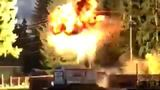 Watch: Transformer explodes along Lake Tapps during wind storm