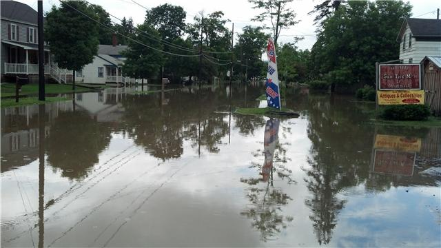 Flooding in Sherburne