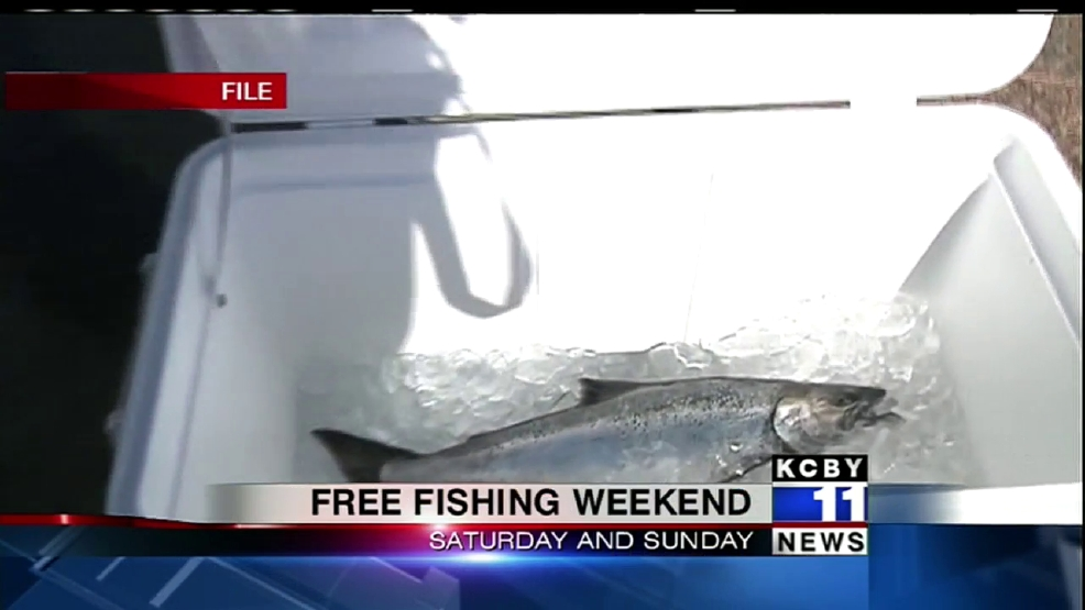 New year 39 s weekend means free fishing crabbing clamming for Free fishing weekend oregon