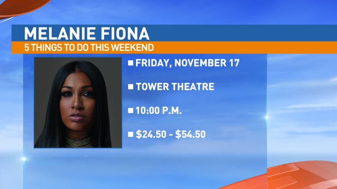 Melanie Fiona Friday at the Tower Theatre