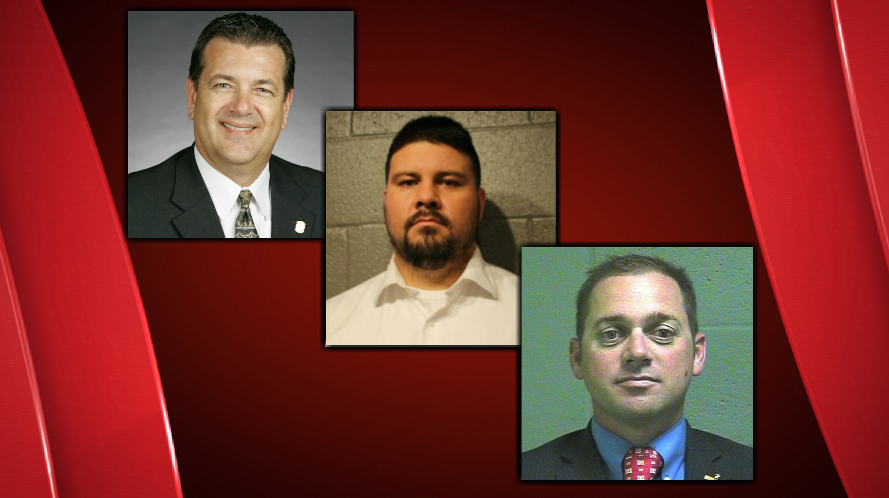 Left to right: Dan Kirby, Ralph Shortey, and Bryce Marlatt can be seen in these file photos.