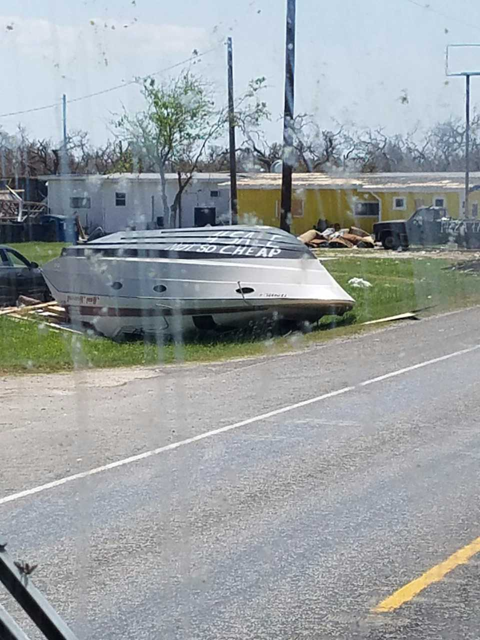 More storm damage in Texas. Photo: Virginia Kipp