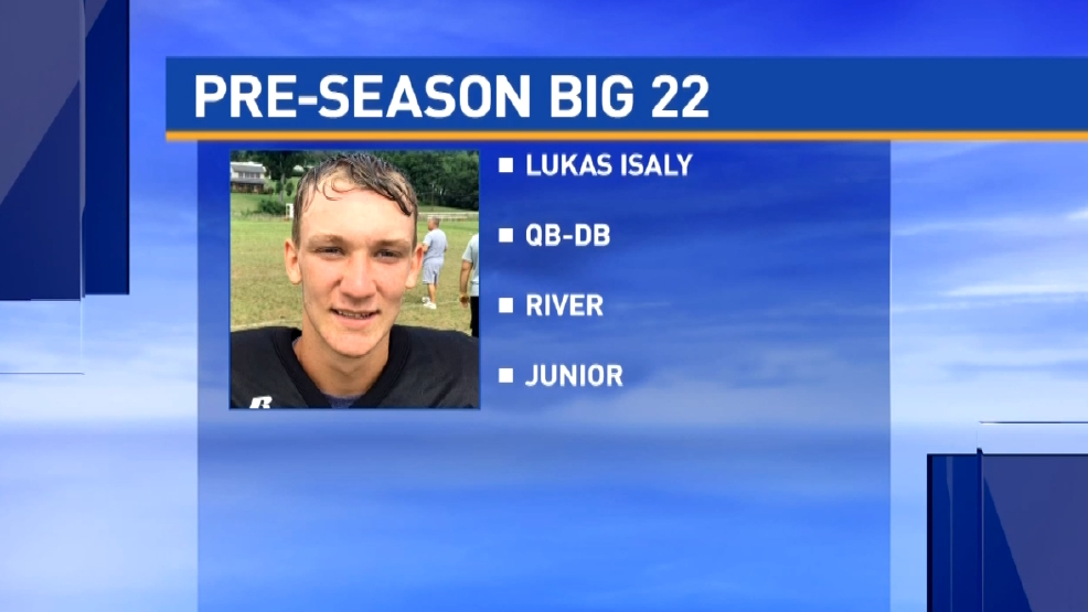 Big 22 Preview: Lukas Isaly