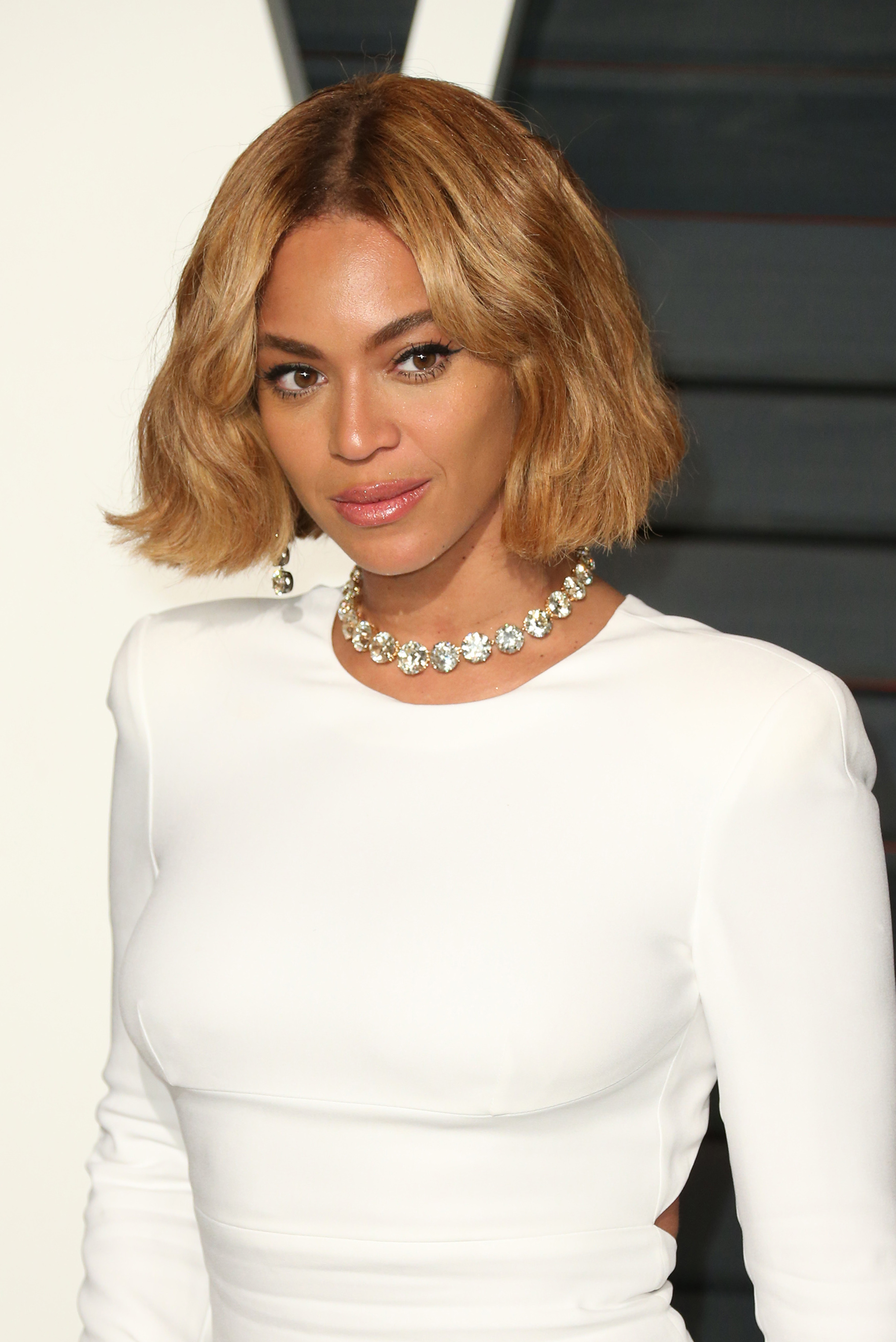 Beyonce at The 87th Annual Oscars - Vanity Fair Oscar Party at Wallis Annenberg Center for the Performing Arts and The Beverly Hills City Hall - Arrivals (FayesVision/WENN.com)