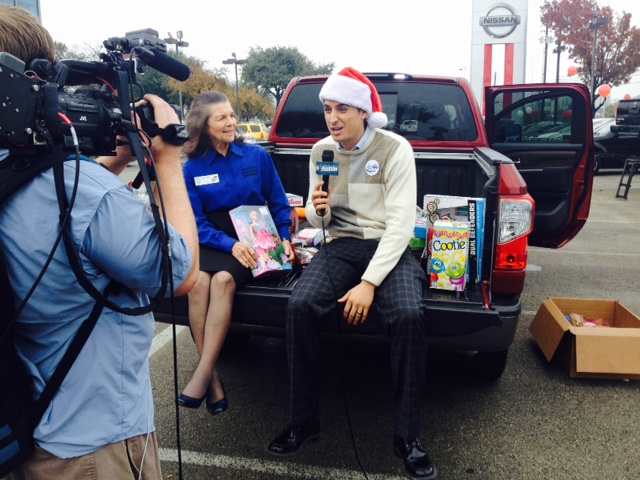Slideshow Day Of Giving At Clay Cooley Nissan Keye
