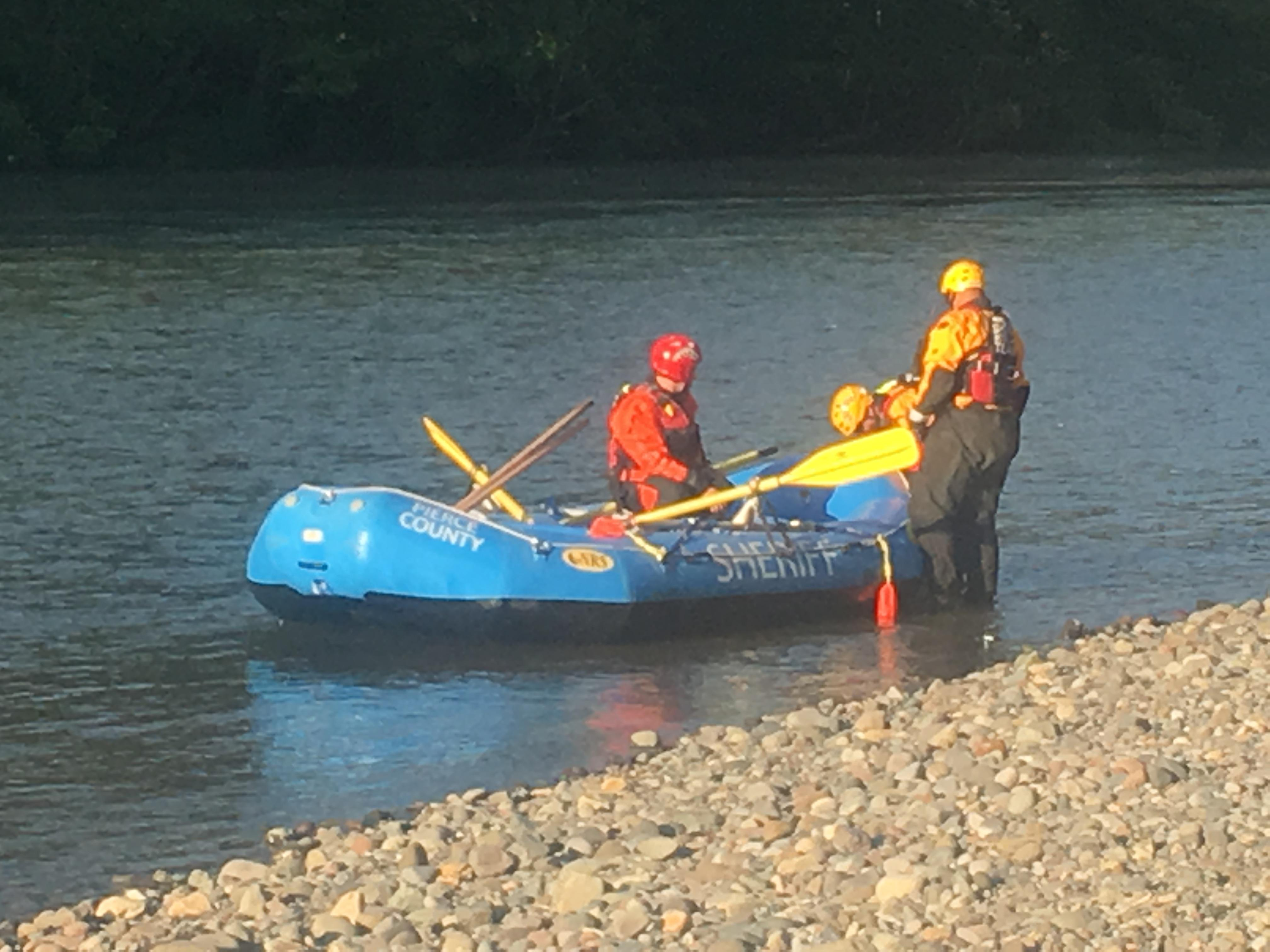 Search ends for man who fell in puyallup river while for Puyallup river fishing