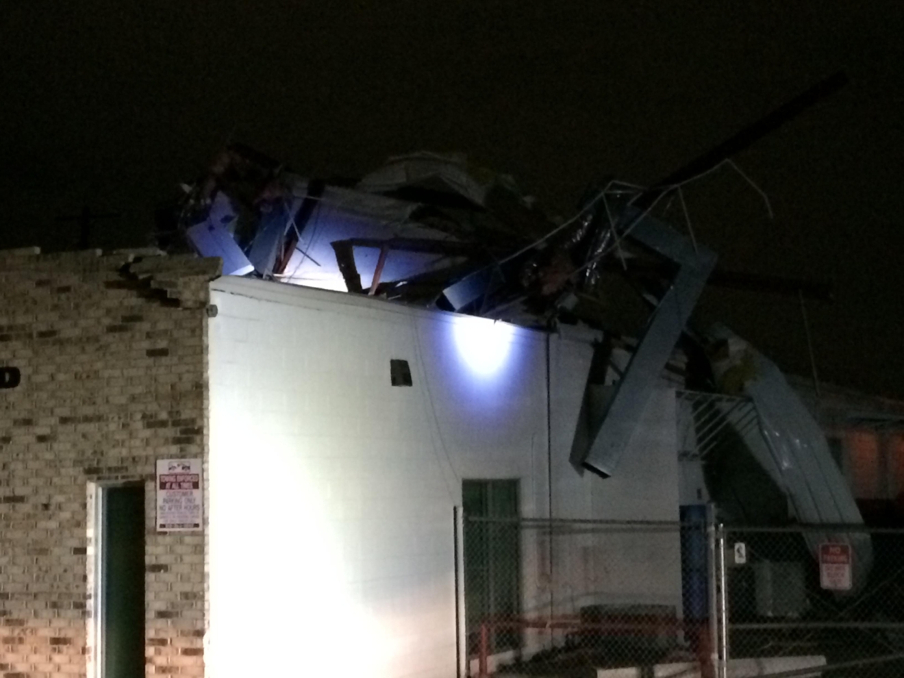 SE Austin Damage (Courtesy AFD)