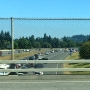 Men wanted after person falls out of car on I-205; northbound lanes remain closed