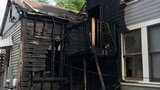 Firefighters battle Downtown Austin house fire