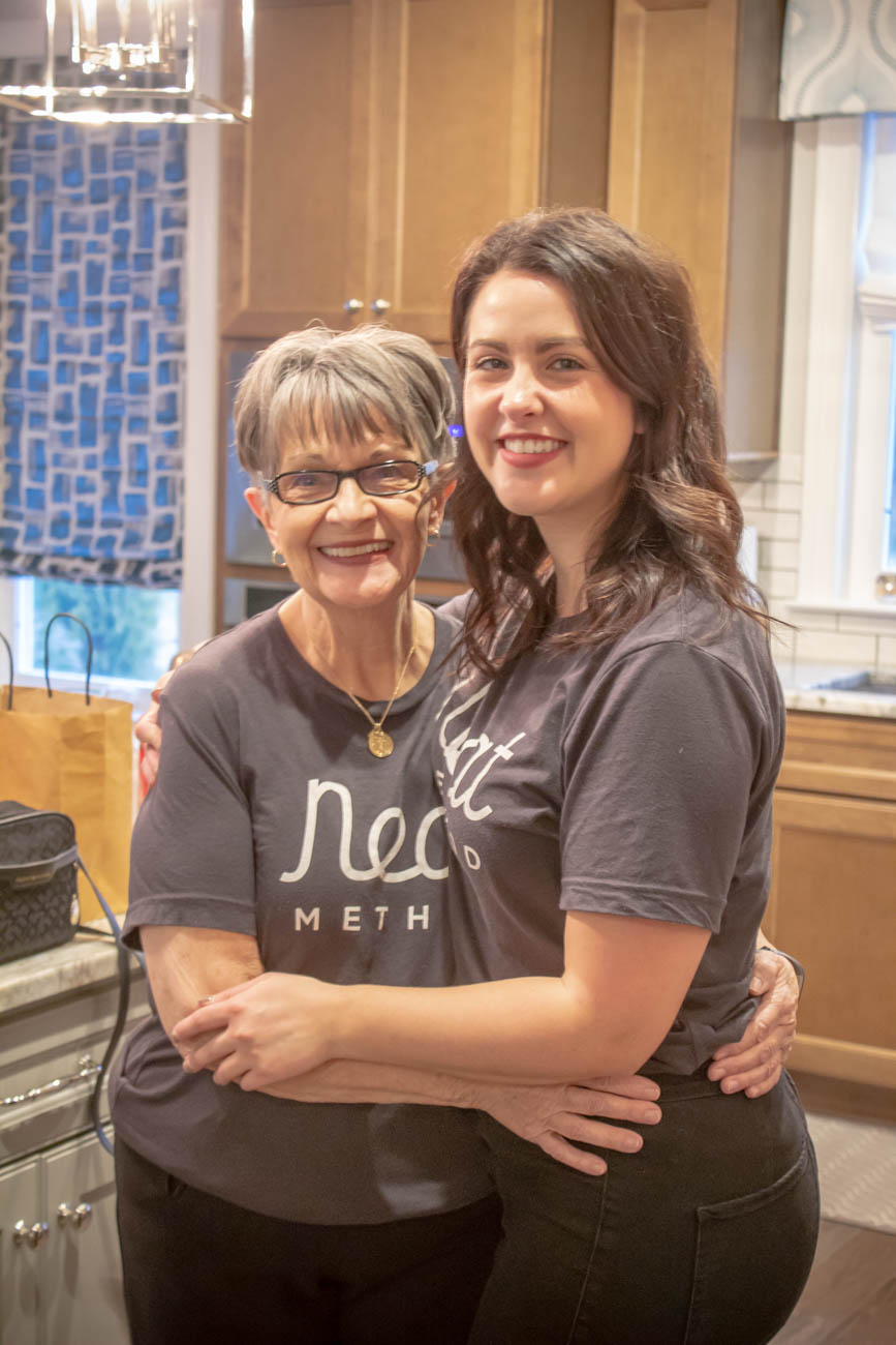 "Devan with{&nbsp;}Ruth ""Nana"" Dickerson, the ""Queen of organizing""{&nbsp;}/ Image: Katie Robinson, Cincinnati Refined // Published: 1.11.20 <p></p>"
