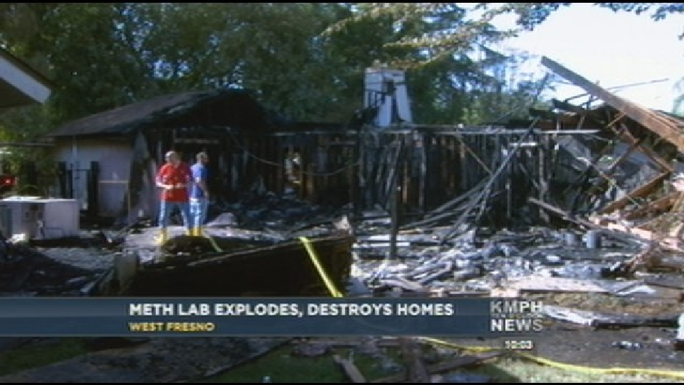 Meth Lab Explosion, Man Burned Over 70% Of Body | KMPH