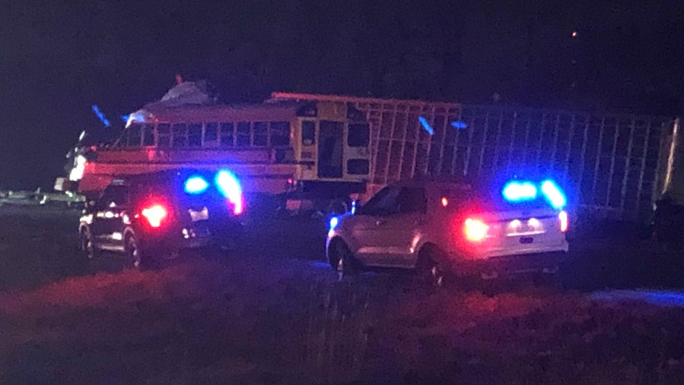 Truck collides with school bus in Illinois killing 2 | KOMO