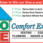 Home Comfort Experts Fall Give-A-Way