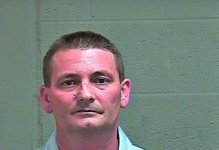 Andrew Tomlinson, 41, was arrested March 27 in Oklahoma City on complaints of offering to engage in an act of prostitution. (Oklahoma County Jail)