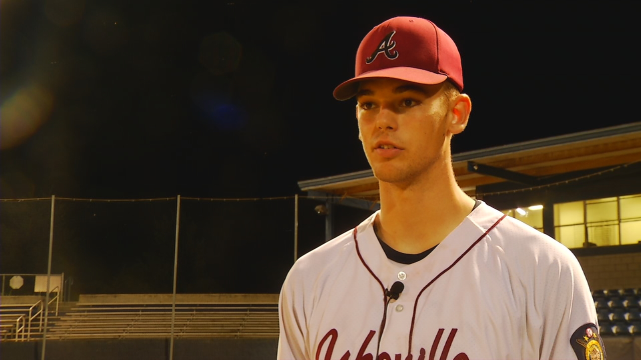 It's been three years since the Asheville Post 70 baseball team has made it to the second round of the American Legion Playoffs. The Cardinals have done it again this year, thanks to a new head coach and a star pitcher Jack Ponder. (Photo credit: WLOS Staff)