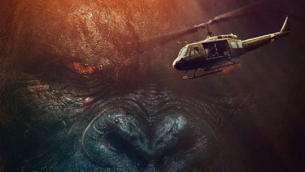 'Is that a monkey?' New 'Kong: Skull Island' trailer unleashes monsters
