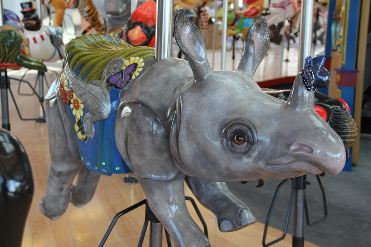 5. Carol Ann's Carousel: for the adult who appreciates a dose of whimsy. ADDRESS: 8 W Mehring Way (45202) / Image: Clay Griffith, Cincinnati Refined / Published: 1.6.17