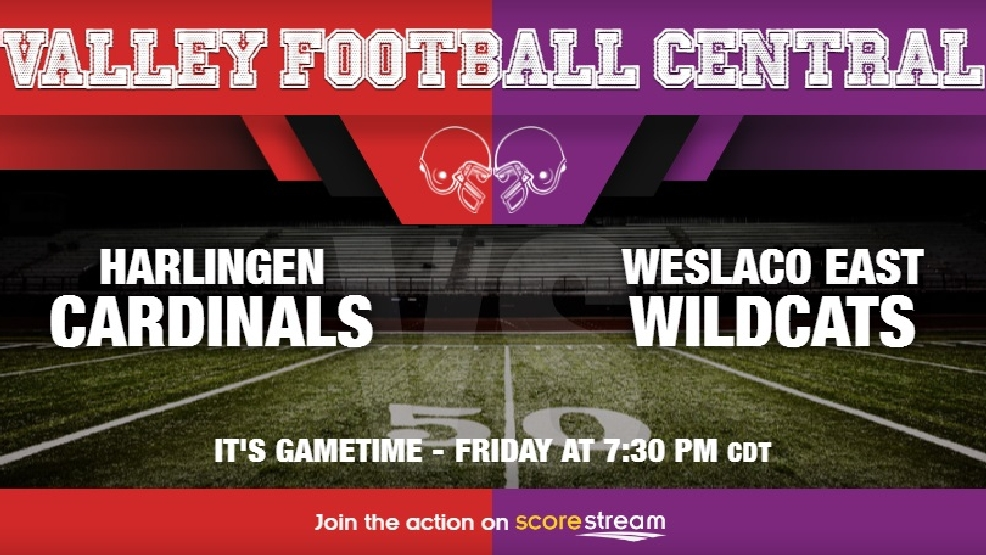 Listen Live: Harlingen Cardinals vs. Weslaco East Wildcats