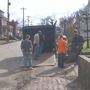 Historical relics at Meigs County Museum being moved to a safer location