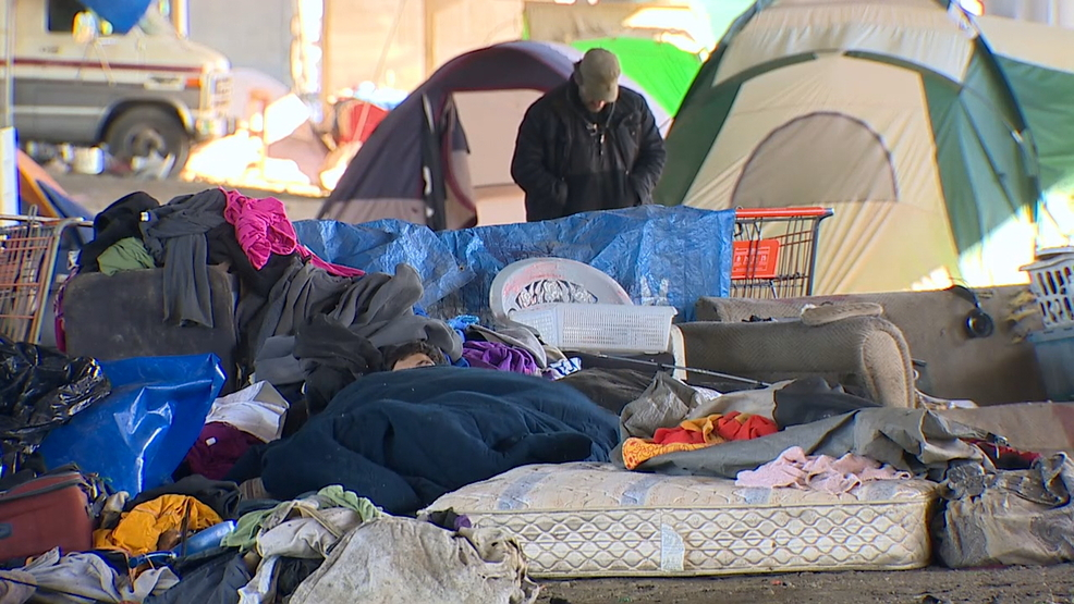 Image result for portland city homeless camps