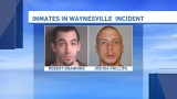 Authorities release names of escaped inmates in Waynesville chase and shooting
