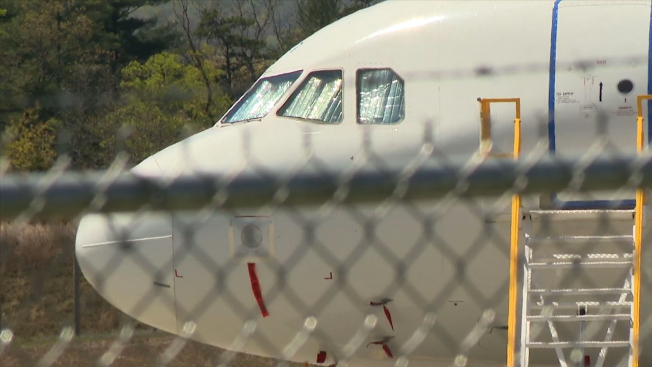 """Asheville has an airport. How safe is it to fly, as to catching or not catching the coronavirus,"" a viewer asked News 13's I-Team Coronavirus Help Desk. (Photo credit: WLOS staff)"