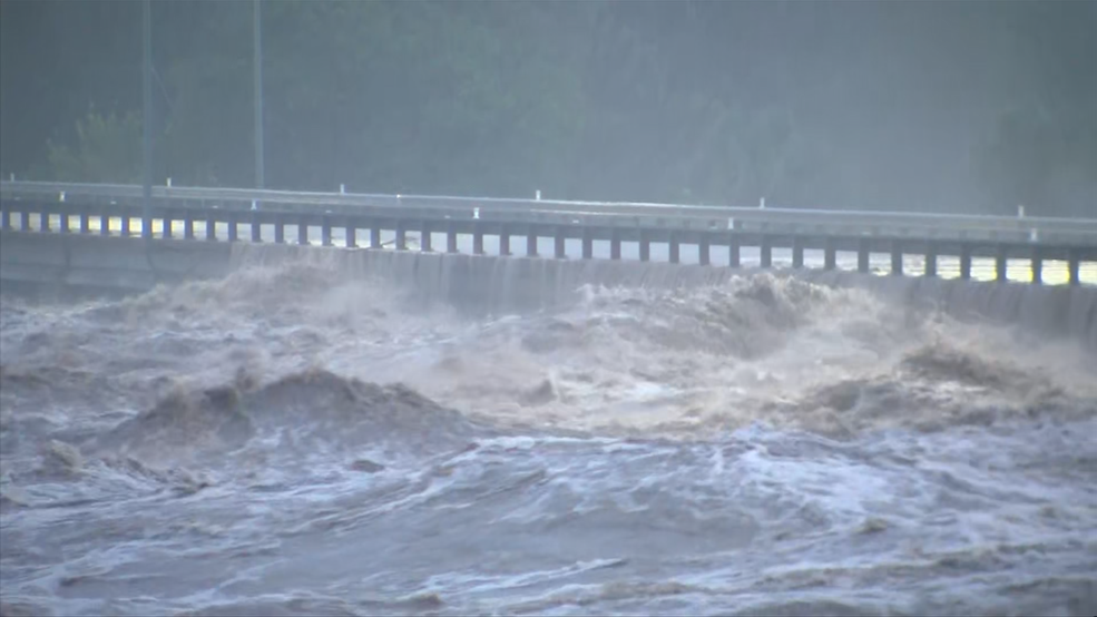 Severe Flooding Llano River Rages Destroys Bridge In