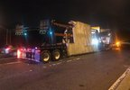 Tractor trailer carrying large concrete slabs strikes an overpass on I-395 in D.C.  Thursday, Sept. 14, 2017.jpg