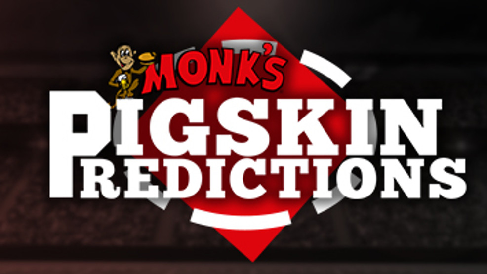 Monk's Bar & Grill's Pigskin Predictions