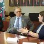 Governor Inslee met with Central Washington teachers to discuss K-12 education