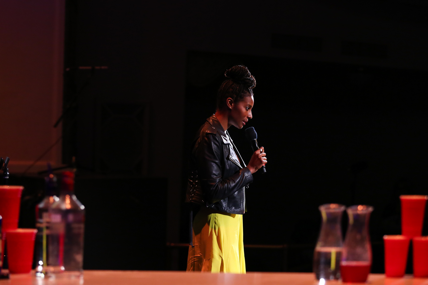 Comedienne{ }{ }Zainab Johnson{ }performed at The Bentzen Ball on October 28. (Amanda Andrade-Rhoades/DC Refined)