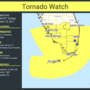 Tornado watch issued for southern Florida