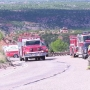 Emergency crews respond to fatal semi-truck crash on Highway 207 south of Claude