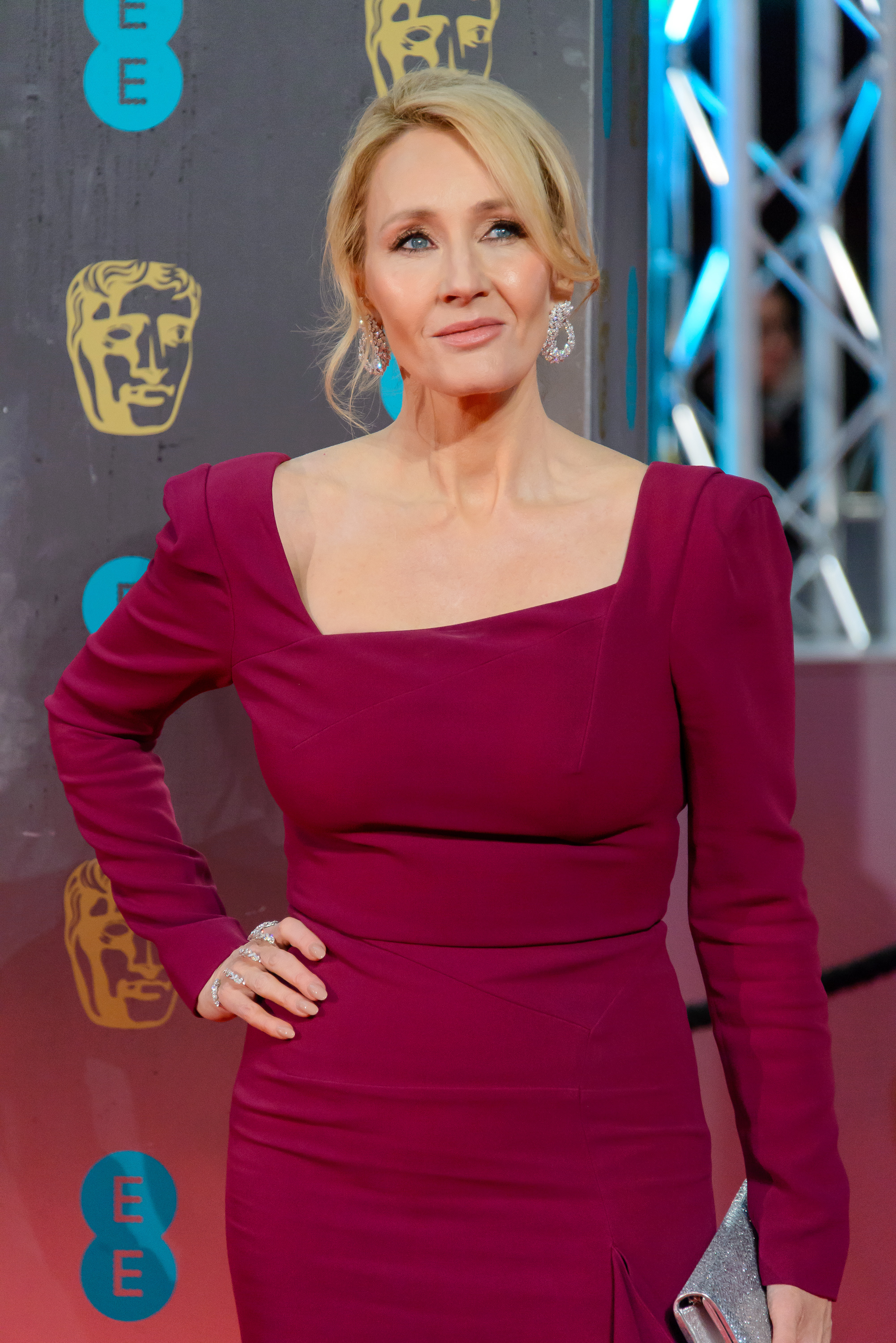 The 2017 EE British Academy Film Awards (BAFTAs) - Arrivals  Featuring: J.K. Rowling Where: London, United Kingdom When: 12 Feb 2017 Credit: Joe/WENN.com
