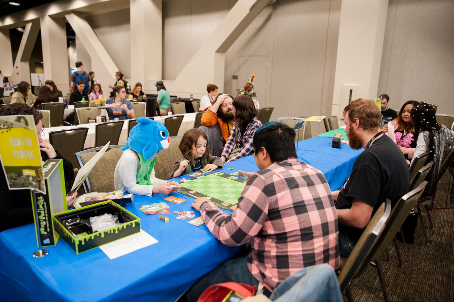 More than 12,000 people celebrated GeekGirlCon in downtown Seattle at the Conference Center this past weekend, an event dedicated to empowering women, girls, and non-binary geeks to pursue their passions — whether they love science and technology, comics, literature, gaming, or anything else. GGC believes everybody is a geek at heart, in one way or another, and we need to ensure all these geeks are supported, welcomed, and encouraged to pursue what they love. (Image: Elizabeth Crook / Seattle Refined){ }