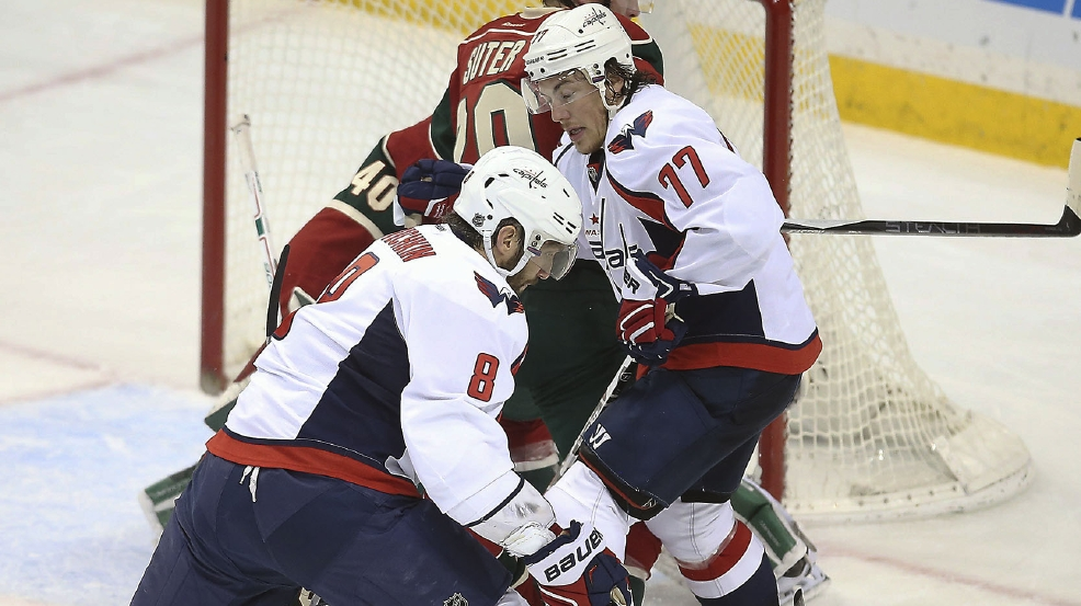 Ovechkin Hat Trick Gives Capitals 4 3 Road Win Against Wild Wjla