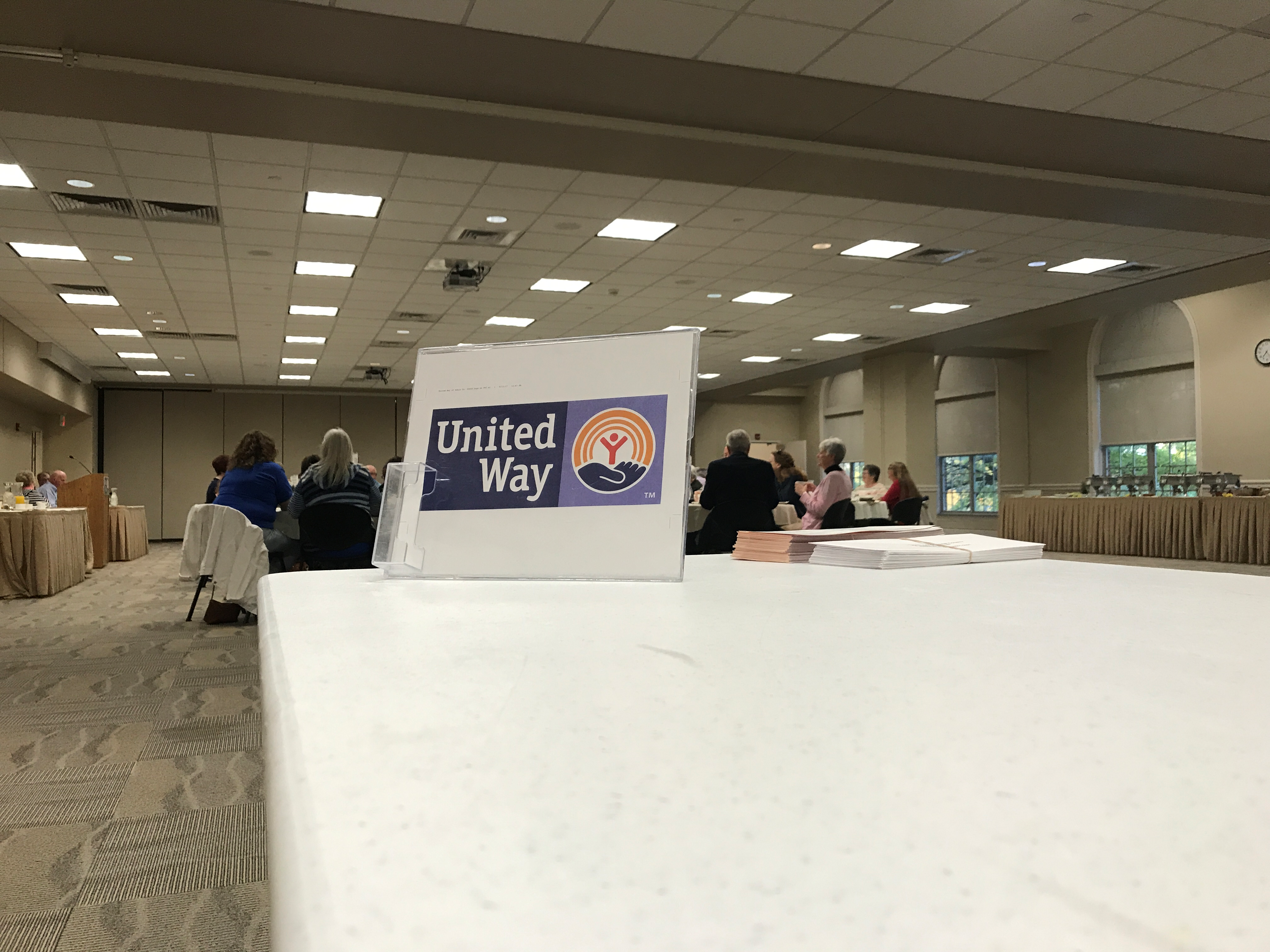 The United Way of Adair County/Northeast Missouri held their annual campaign kick-off breakfast Friday at Truman State University. (KTVO:Riley Fannon)