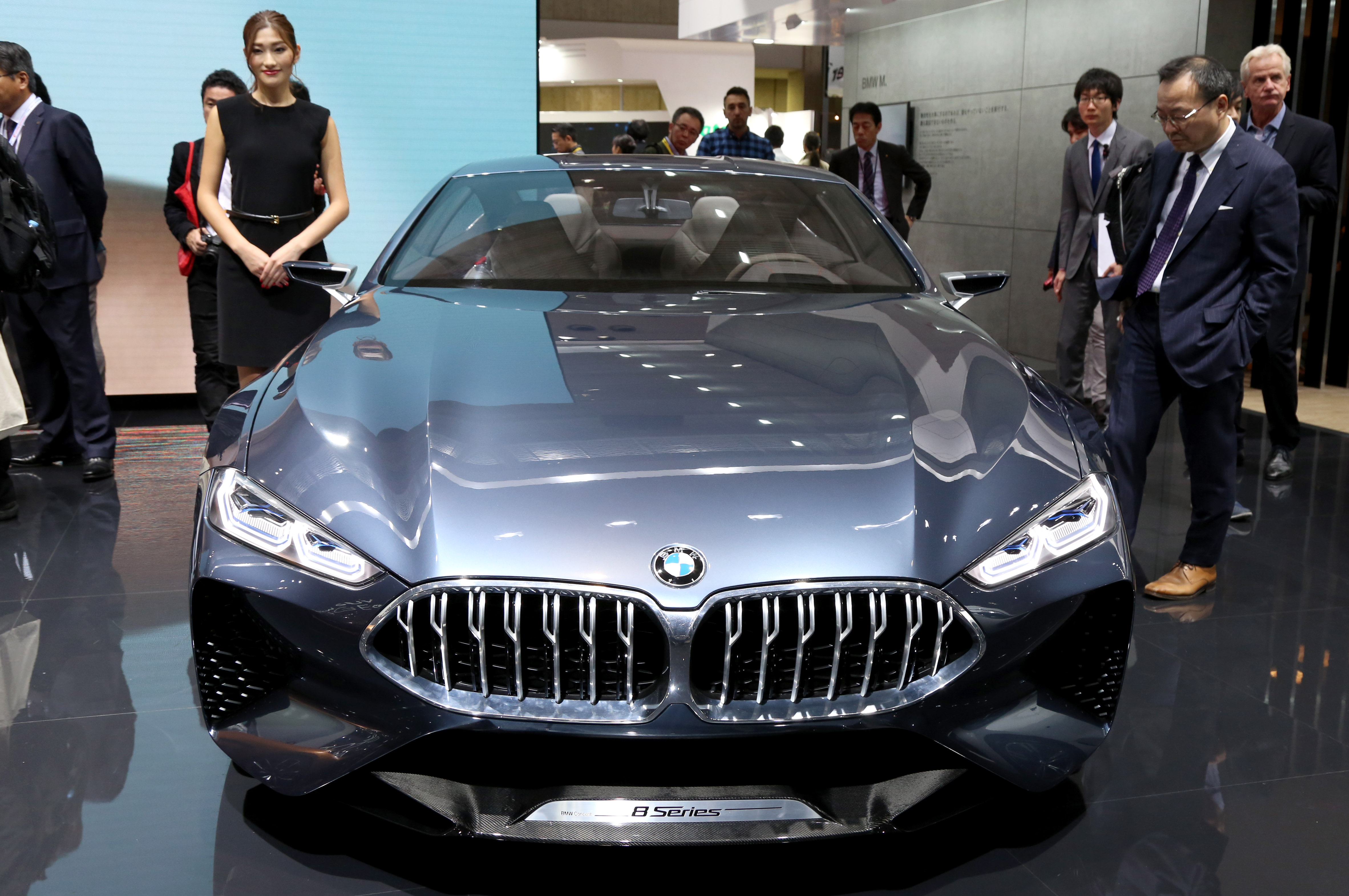 Tokyo Motor Show 2017  Featuring: BMW Concept 8 Where: Tokyo, Japan When: 25 Oct 2017 Credit: Yukio Tomita/Future Image/WENN.com  **Not available for publication in Germany**