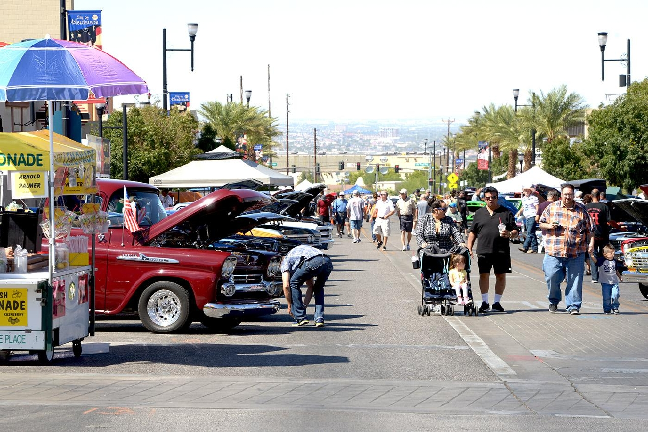Super Run Classic Car Show Las Vegas
