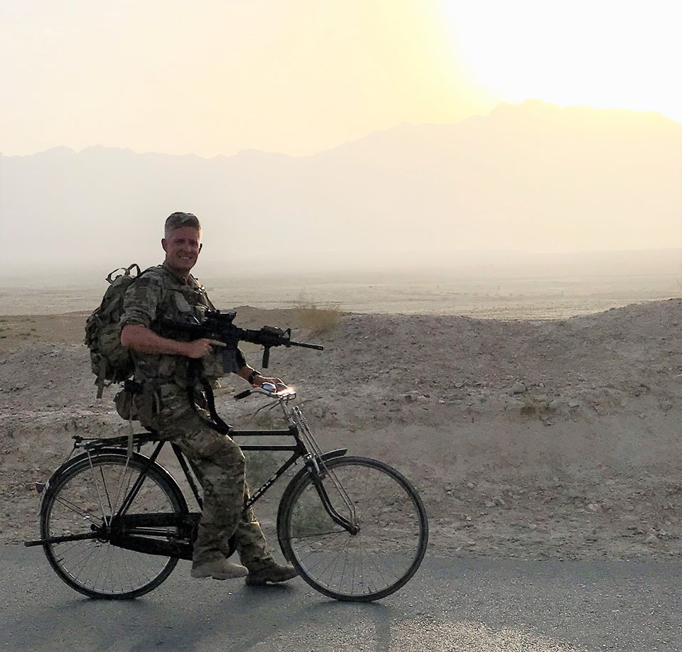 Brent Taylor, the mayor of North Ogden, was serving with the Utah National Guard in Kabul, Afghanistan when he was killed during an insider attack. (Photo courtesy of Brent Taylor's Facebook page)