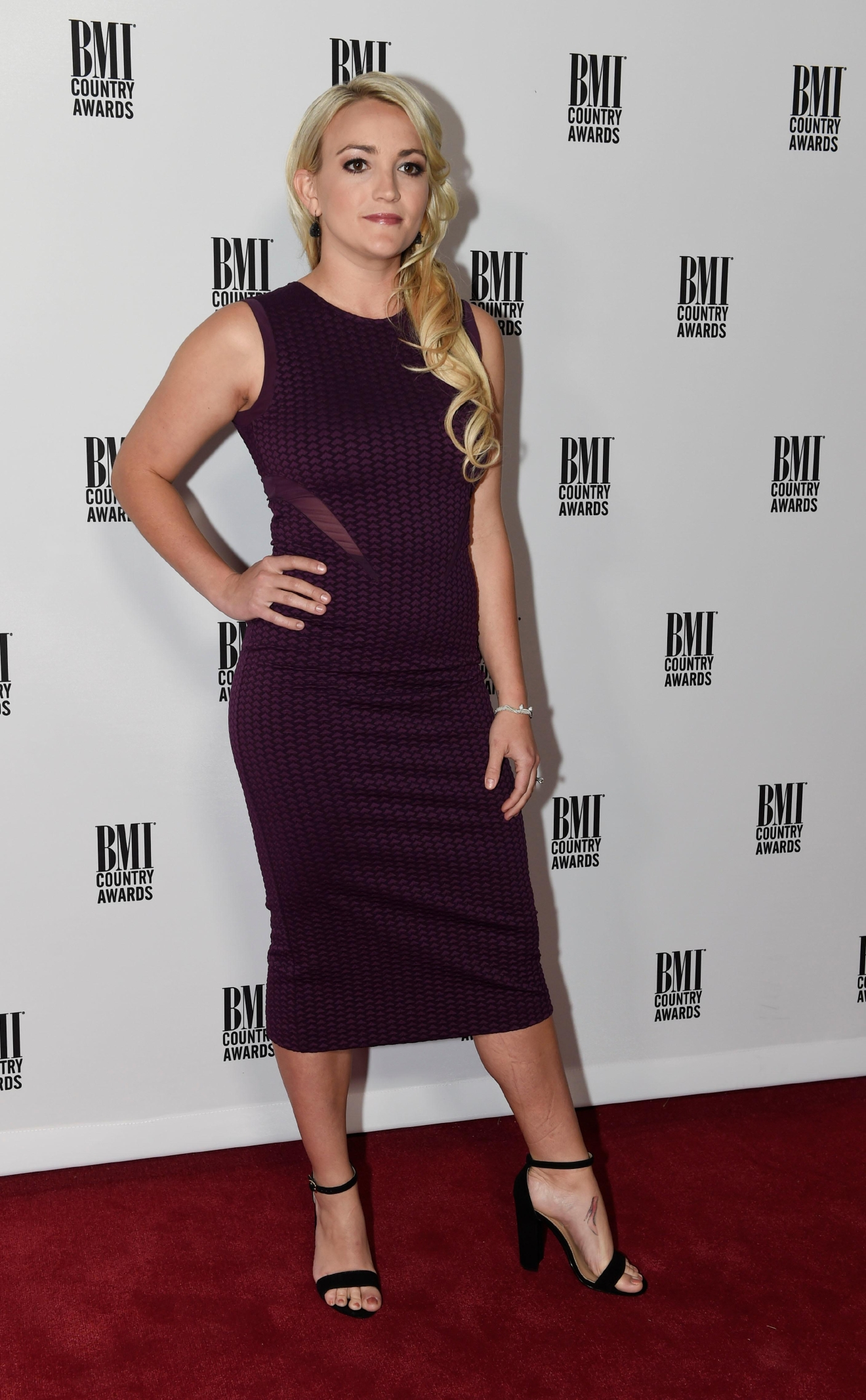 Jamie Lynn Spears seen at 64th Annual BMI Country Awards at BMI on Tuesday, Nov 1, 2016, in Nashville, Tenn. (Photo by Sanford Myers/Invision/AP)