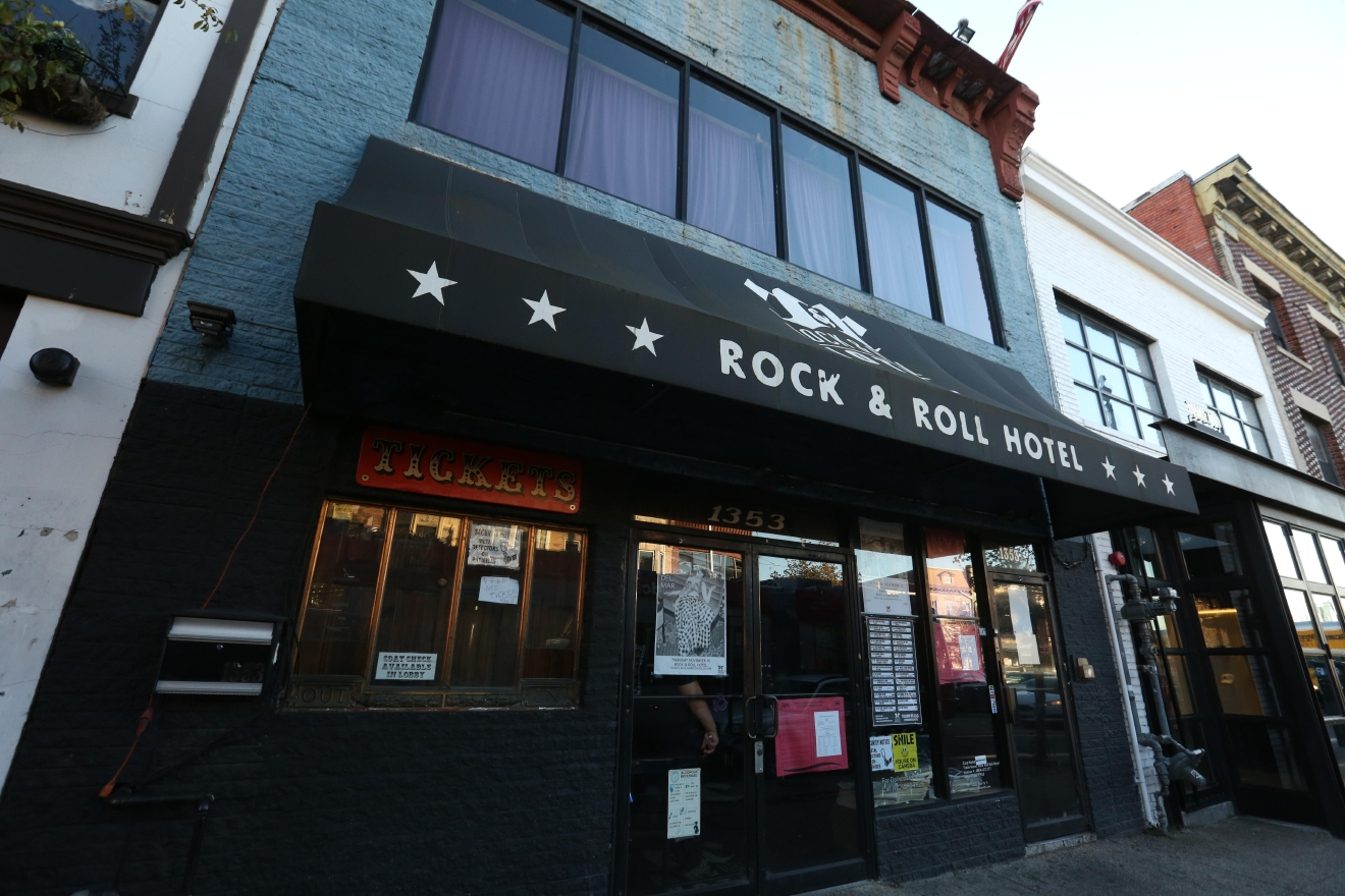 Rock & Roll Hotel is a great music venue that often features local talent. It also features a lowkey rooftop bar favored by locals. (Amanda Andrade-Rhoades)