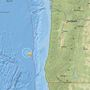 3.8-magnitude earthquake recorded off Oregon coast
