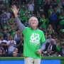 Doctor from Newport honored at Celtic's game