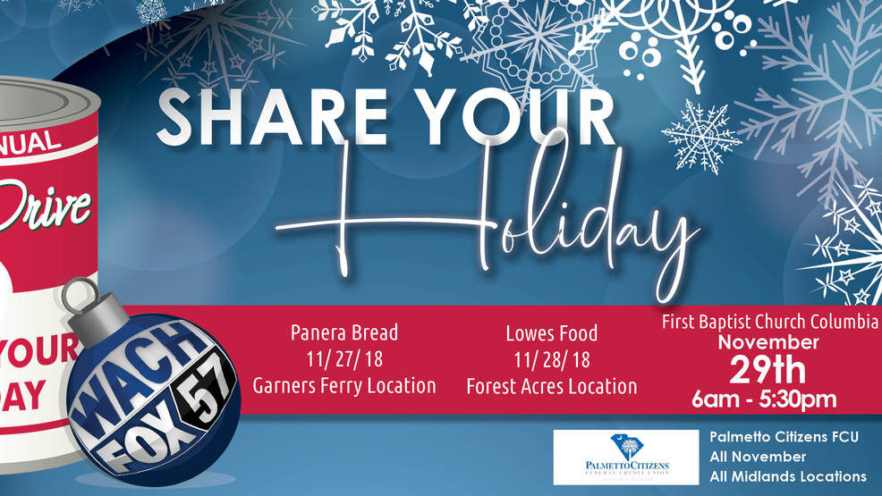 wach fox partnering with panera bread for 2018 share your holiday food drive - Panera Bread Christmas Eve Hours