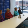 Kidney donor and recipient meet for first time at Upstate University Hospital