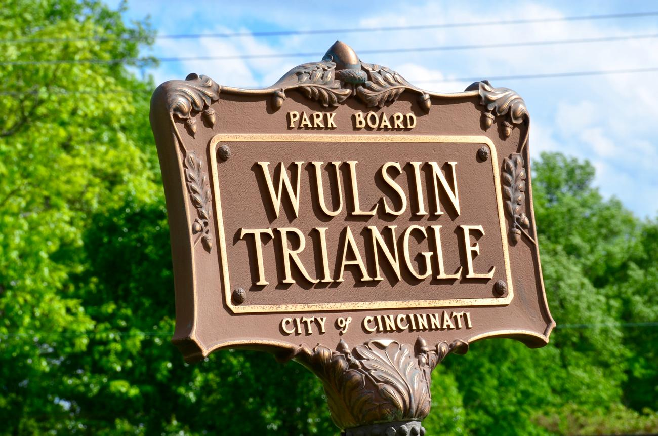 PARK: Wulsin Triangle / LOCATION: Corner of Madison Road and Observatory in Hyde Park / FUN FACT: It's named after Lucien Wulsin, who worked for the Baldwin Piano Company starting around 1866 / IMAGE: Leah Zipperstein, Cincinnati Refined // PUBLISHED: 5.8.17