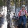 Armed only with a frying pan, Maine woman helps stop forest fire