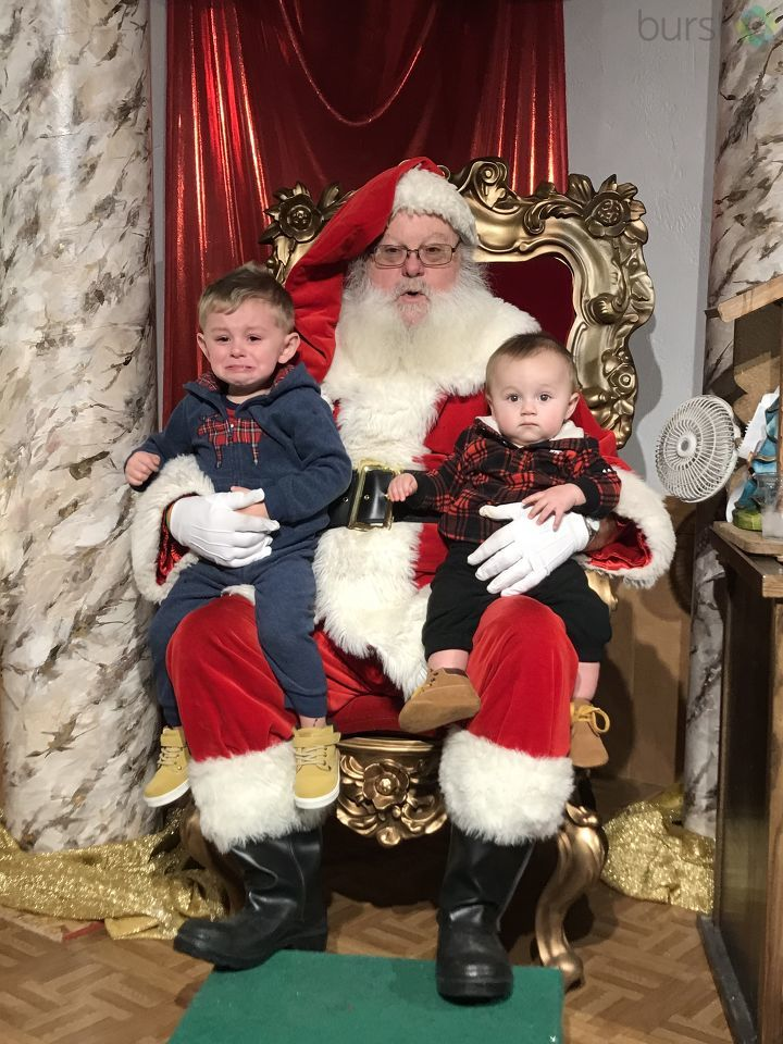 Kids and Santa. Photo courtesy of Alexys Davis.