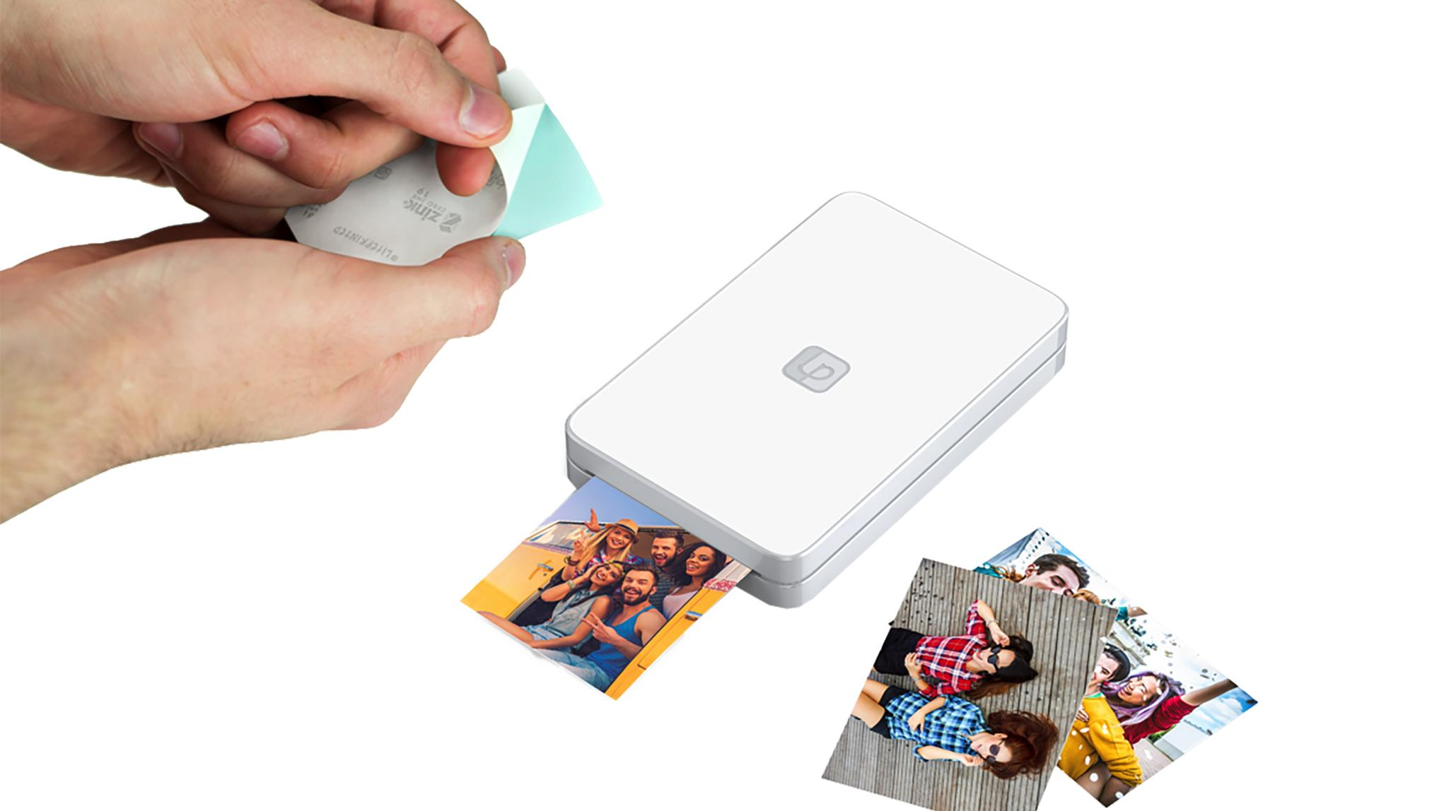 Verizon's Lifeprint Photo Printer is an easy and ink-free way to print your favorite photos and videos from your phone using Bluetooth.{ }(Photo courtesy of Verizon)